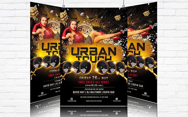 Urban Touch Flyer