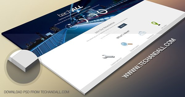 Website Prospective Showcase Mockup