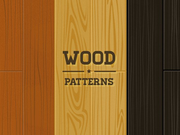 Wood Pattern Pack – PSD
